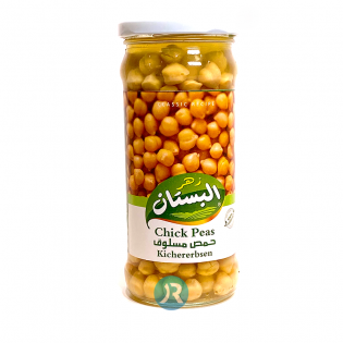 Chickpeas Boiled Bustan 370g