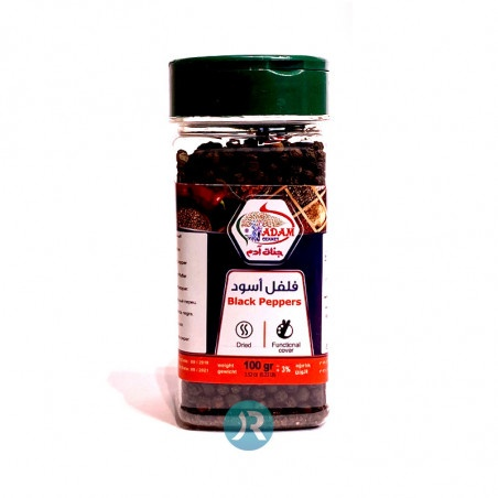 Black pepper Whole Jannat Adam 100g