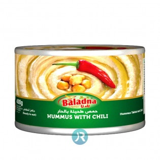 Hummus with Tahini & Chili Baladna 400g