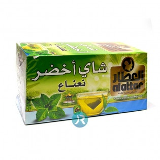 Green Tea with Mint Alattar 20p
