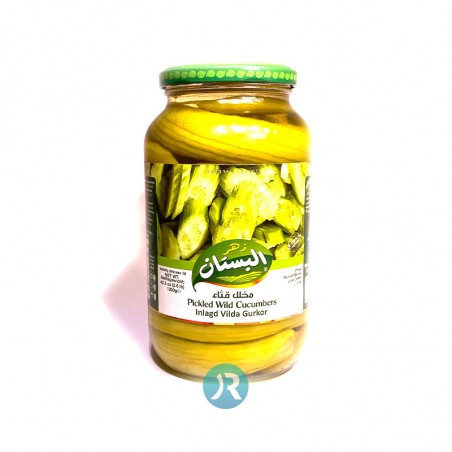 Pickled Wild Cucumbers Bustan 1200g