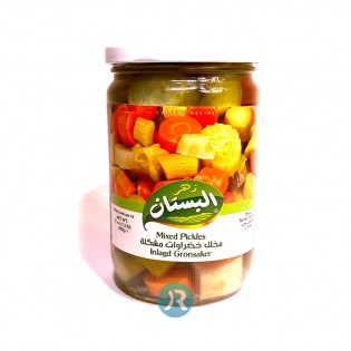 Pickled Vegetables Bustan 600g