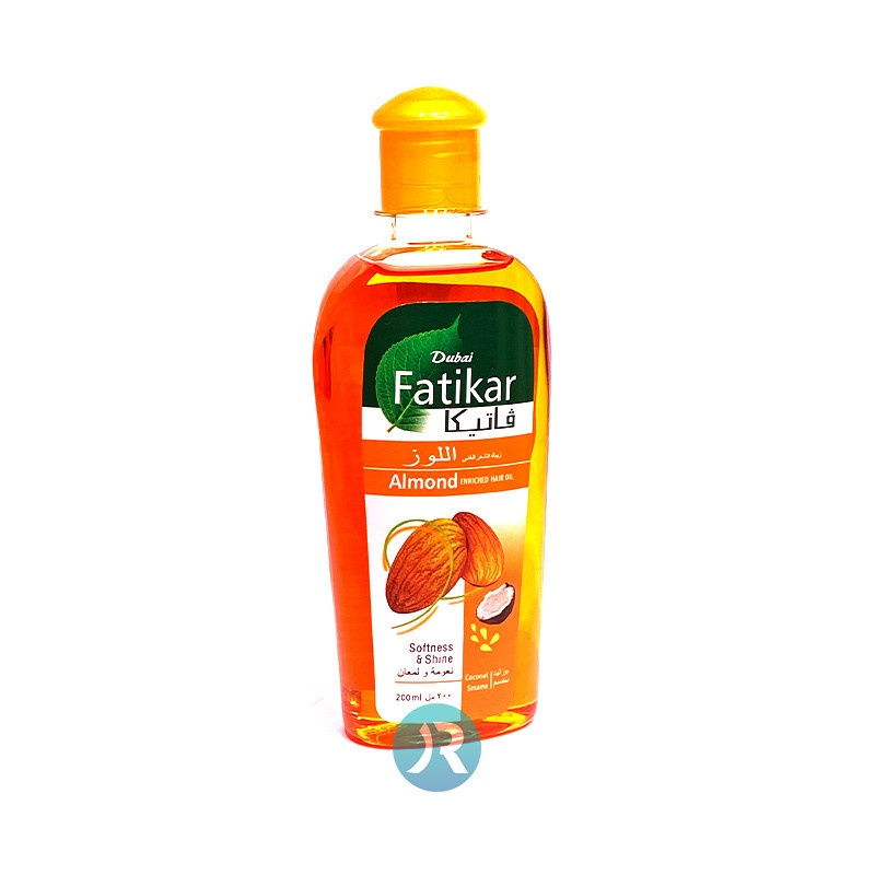 Hair Oil with Almond Vatika 200ml