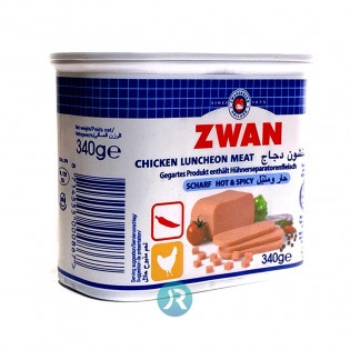Mortadella Chicken Spicy Zwan 340g