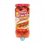 Hot Dogs Beef Hana 400g