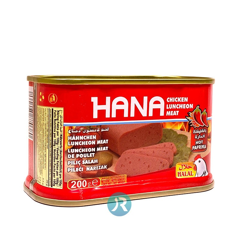 Mortadella Chicken Chili Hana 200g