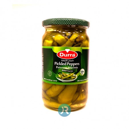 Pickled Peppers Durra 600g