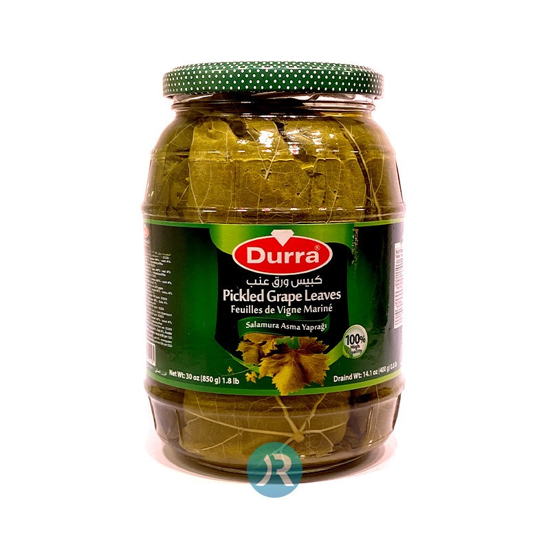 Grape Leaves Pickled Durra 850g