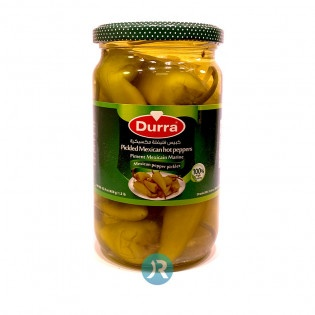 Pickled Mexican Hot Peppers Durra 650g