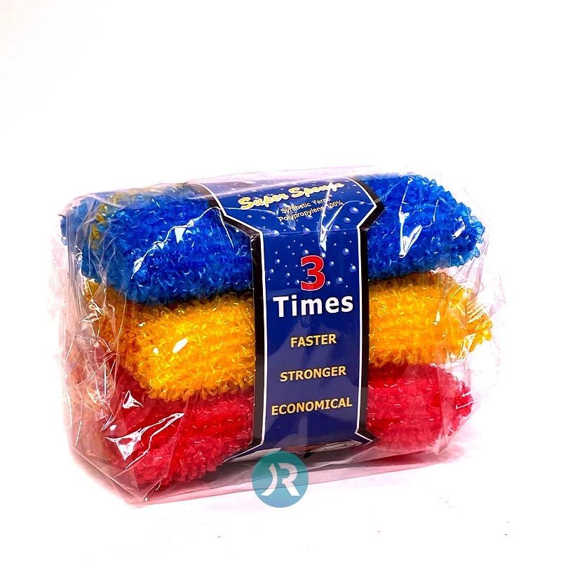 Kitchen sponge Rough 3pcs