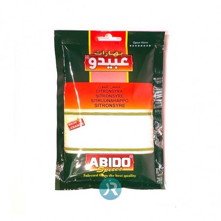 Citric Acid Abido 100g