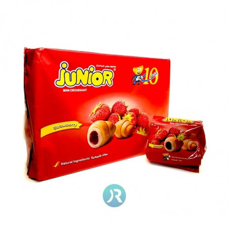 Croissant Strawberry Mini Junior 10pcs