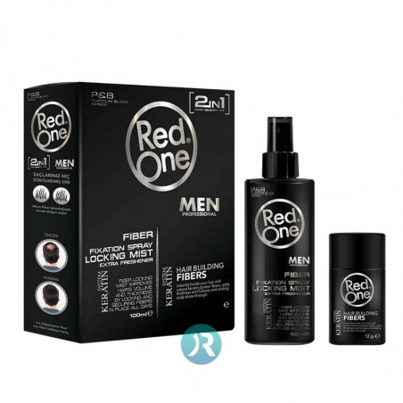 Hair Building Keratin System (Black) Red One