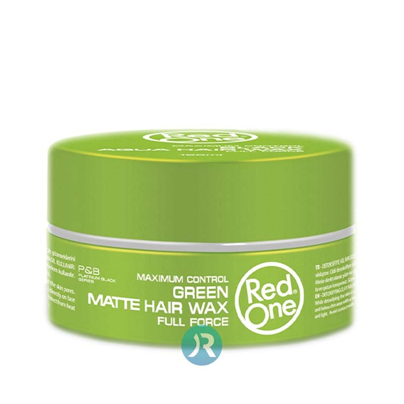 Green Matt Hair Wax Red One 150ml