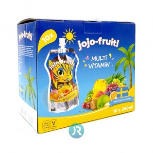 Juice Fruits Jojo-fruiti 10pcs