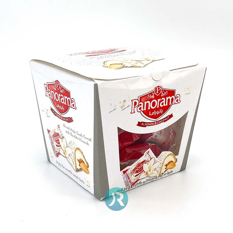 Wafer with Almond & Coconuts Panorama 140g