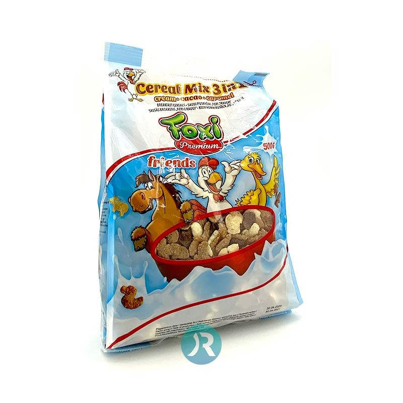 Breakfast Cereals Mix 3in1 Foxi 500g