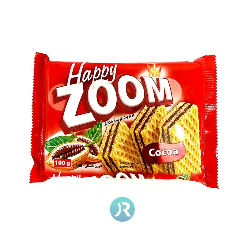 Wafer with Cocoa ZOOM 100g