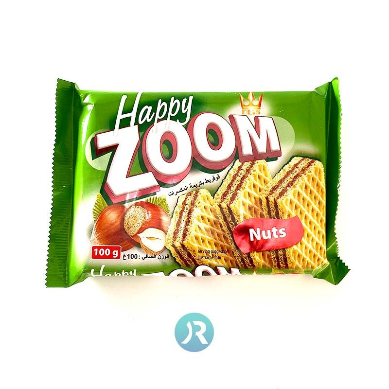 Wafer with Nuts ZOOM 100g