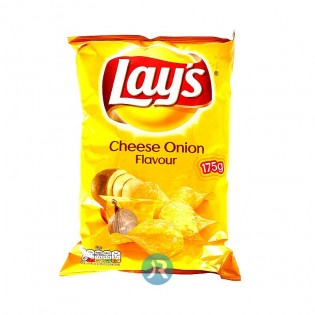 Chips Cheese & Onion Lays 175g