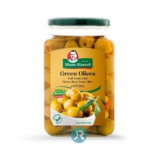 Green Olives Sham Alaseel 1450g