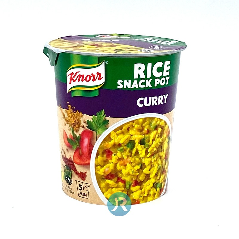 KNO SNACK POT87G RICE CUR